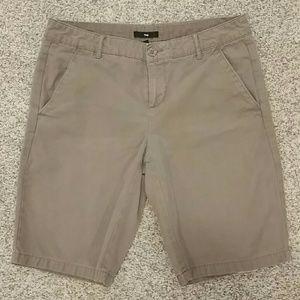 GAP khaki long shorts